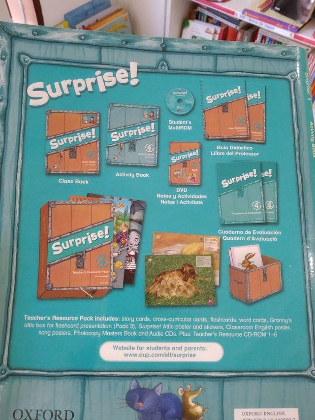 Surprise 4 - Oxford ( Teacher's Resource Pack)