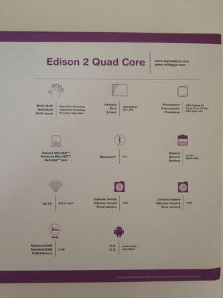 """Tablet 10.1"""" Bq Edison 2 (2/32Gb)"""