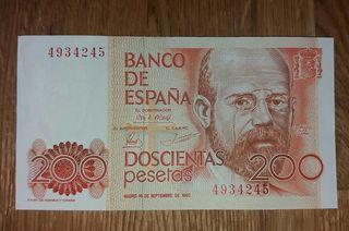 Billete 200 pesetas