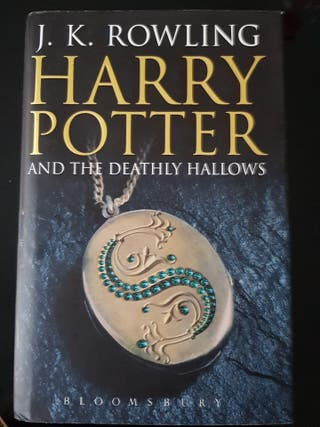 J.K. Rowling Harry Potter and the Deathly Hallows