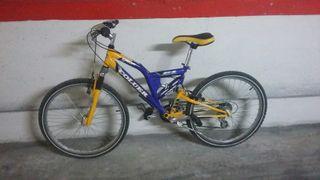 bicicleta de montaña Coluer 24 pulgadas