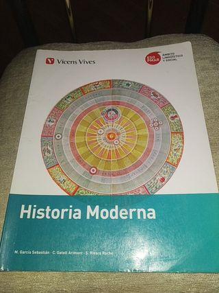Libro Historia Moderna 3°ESO-PMAR