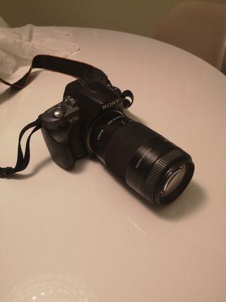 Cámara SONY a330 + Objetivo Sony SAL75300