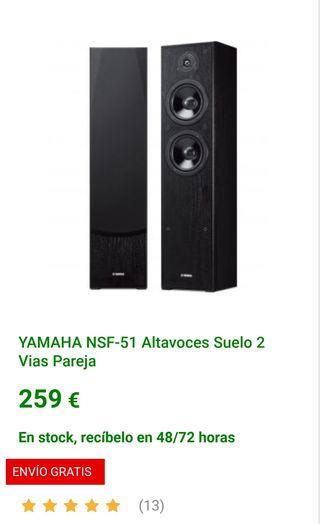 Altavoces Yamaha NSF-51 (REBAJA)
