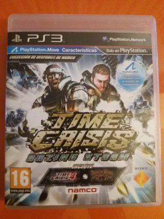 Juego Time Crisis Razing Storm para PS3