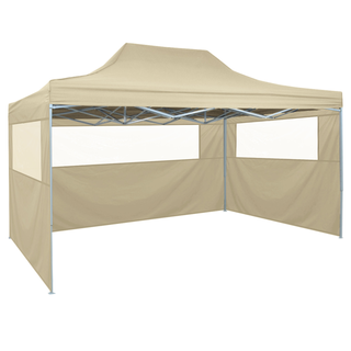 vidaXL Carpa pleglable Pop-up con 4 paredes 42513