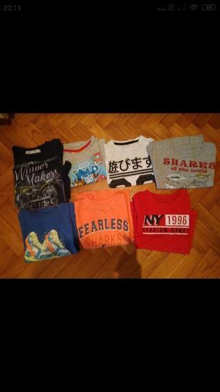 lote camisetas 4-5 años