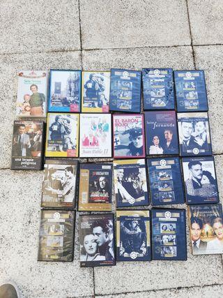 Varías películas DVD.