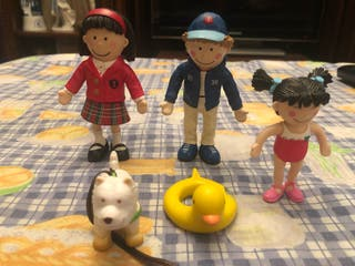 Muñecos familia Amanda