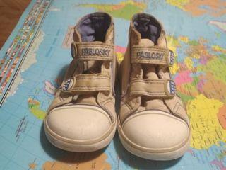 zapatillas lona Pabloski.