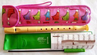 Flauta dulce colegio