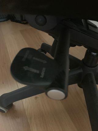 Silla Modelo Bea con cabezal y ruedas