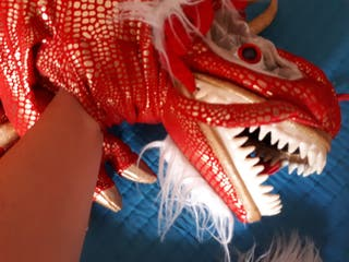 titella marioneta drac dragón