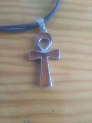 cruz egigcia plata pesa