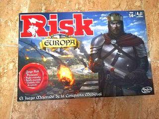 juego de mesa risk europa