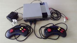 Consola Nintendo Nes clonica Brigmton Nasa