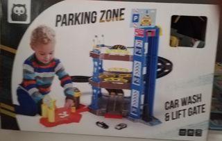 parking con montacargas