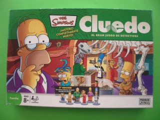 Juego de mesa Cluedo The Simpsons