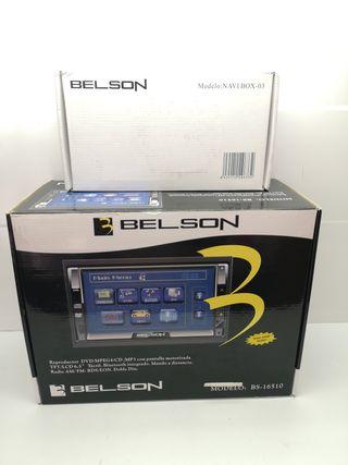 RadioDVD GPS 2 Din Belson Nuevo