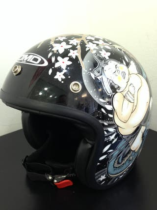 CASCO DE MOTO DMD HELMET SOLE ART DESIGN