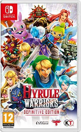 Hyrule Warriors para Nintendo Switch.
