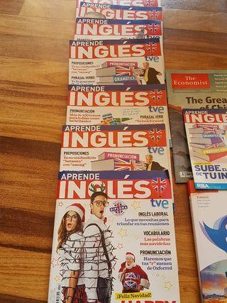Lote de revistas Inglés Vaughan