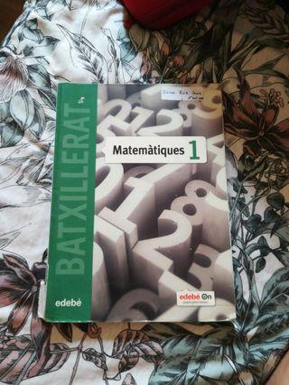 libro matemáticas 1r bachillerato científico