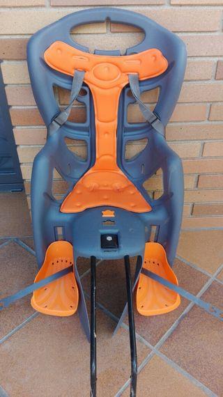 silla para bicicleta de niño