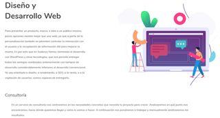 CREACIÓN DE PÁGINAS WEB PROFESIONALES.
