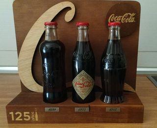 Expositor Coca-Cola: 125 aniversario