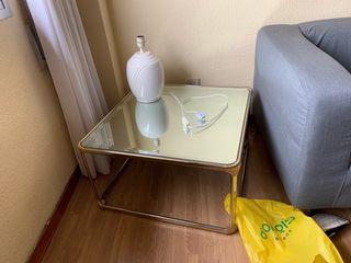 2 Mesas bajas de salón / café a juego