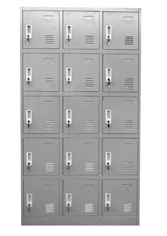 Armario taquilla de metal 15 puertas