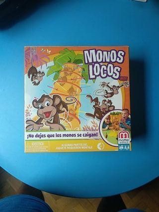 Monos locos juego de mesa