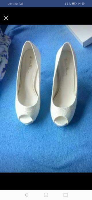 REBAJADOS!! zapatos novia nuevos