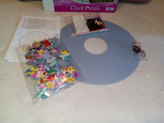 puzzle reloj disney