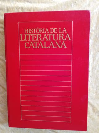 Historia de la literatura catalana.