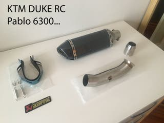 Akrapovic para KTM Duke RC
