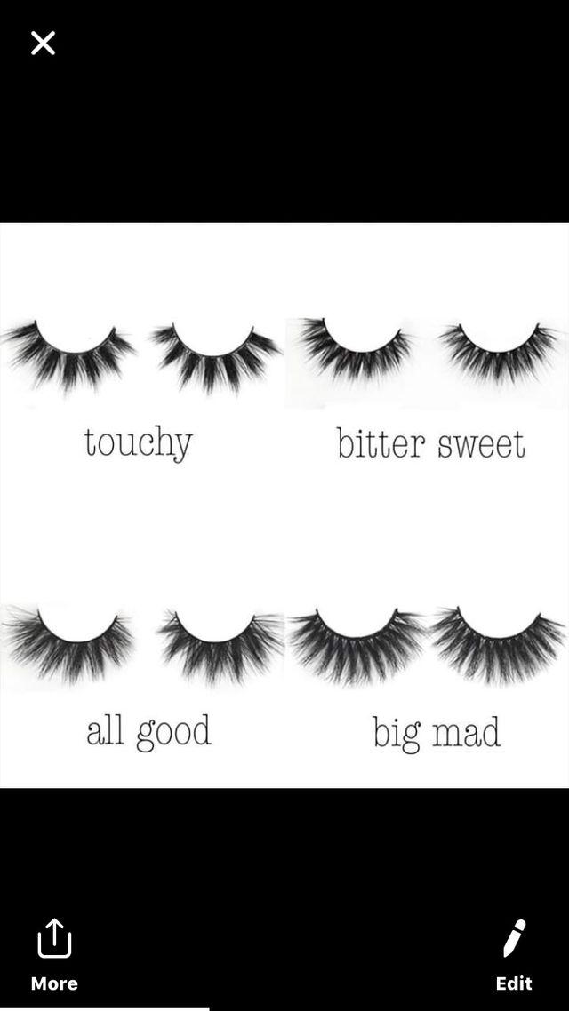 Zavu makeup and eyelashes