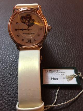 Reloj Frederic Constant pvd oro rose
