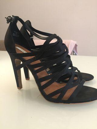 Zapatos tacón Zara talla 40
