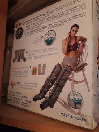 Máquina de presoterapia sin estrenar
