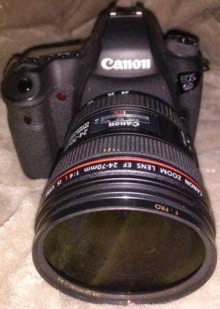 Cámara réflex Canon EOS 6D