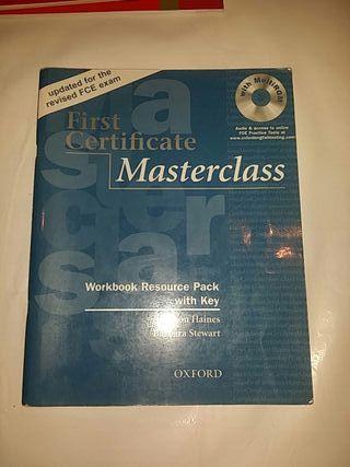 First Certificate Masterclass workbook +key