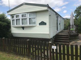 Preciosa mobile home 11x4 m seminueva