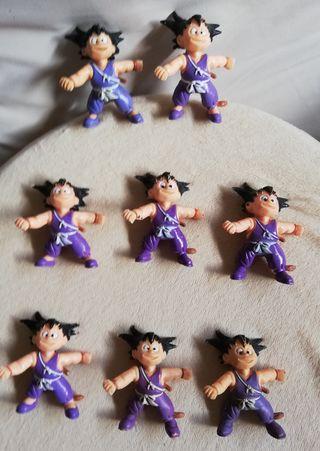 Lote de 8 figuras pvc Goku 1986. Dragon Ball