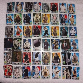 cartas star wars force attax trading car game