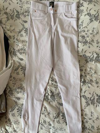 Pantalón equitacion blanco