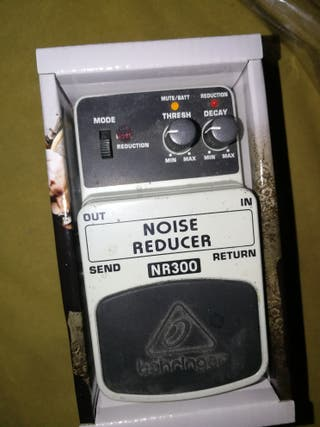 pedal noise reducer