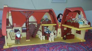 Casa de Blancanieves y los siete Enanitos.