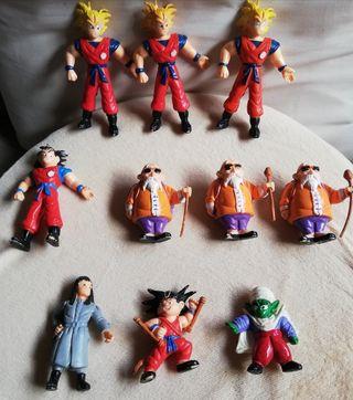 Lote 10 figuras 1986. Dragon Ball